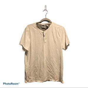 Calvin Klein men's white t shirt size L
